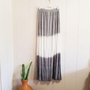Dresses & Skirts - Boho Dip Dye Skirt/Dress